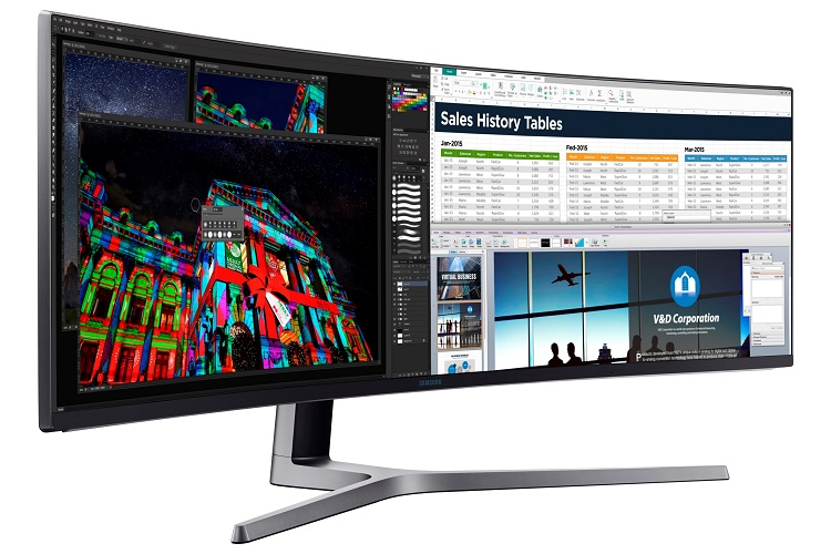 Samsung Introduces Largest Curved Monitor Of The World In India