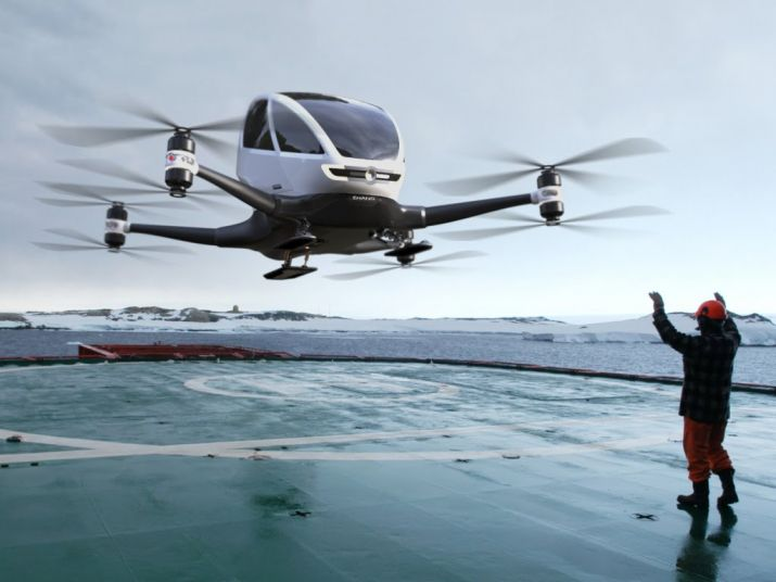 Passenger Drones A Massive Opportunity Says Minister Jayant Sinha